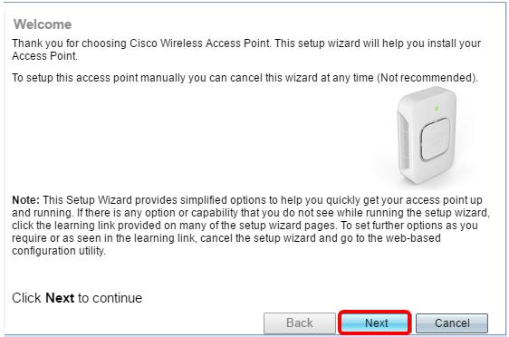 Erstkonfiguration der Wireless Access Points WAP150, WAP351 ...