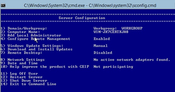 how to get out of parrot command prompt