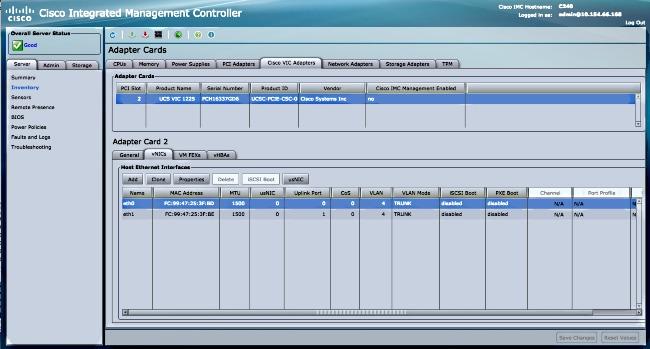 LACP Between Nexus 9000 and UCS Server - Cisco
