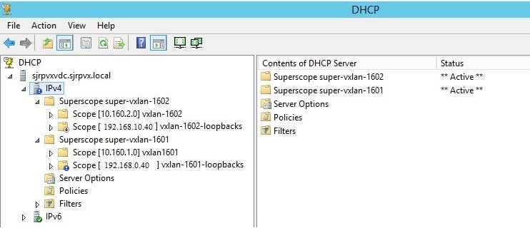 Configuring Microsoft Windows Server 2012 to provide DHCP