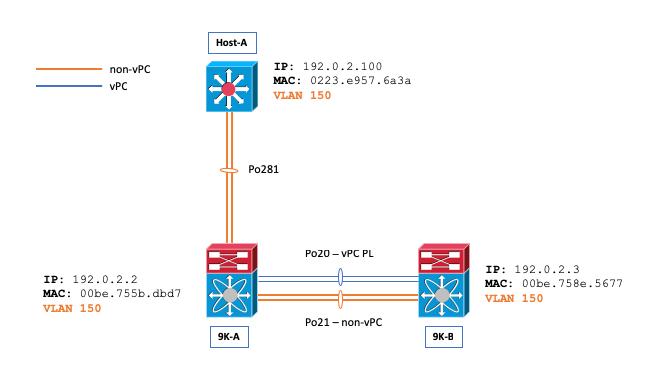 Nexus 9000: ARP & MAC Table Sync Behavior with Non-vPC L2 Trunk - Cisco