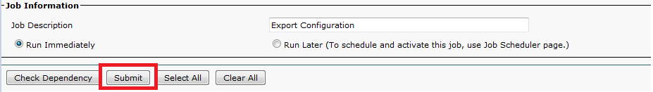 Bulk Configure Changes with Import/Export Feature - Cisco