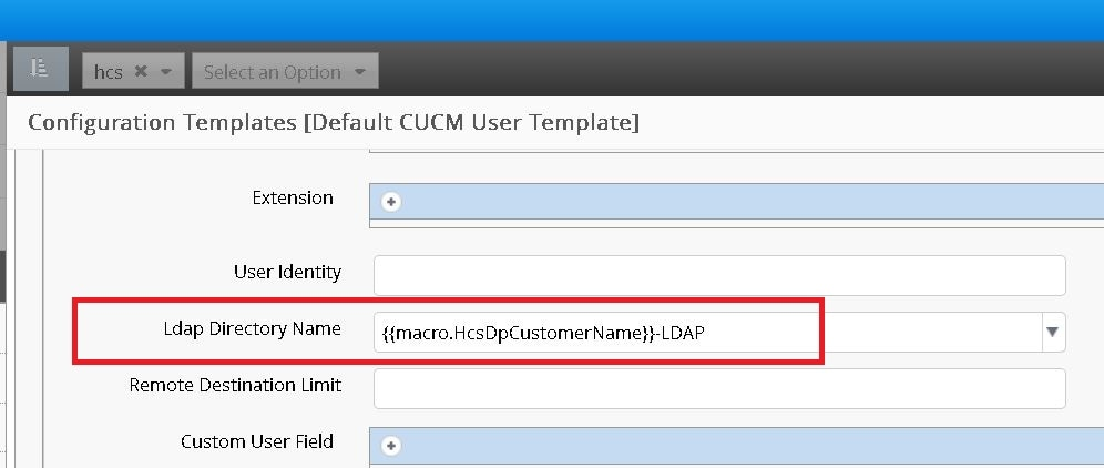 Cisco Unified CDM Model that Support & Downloadss Macros - Cisco