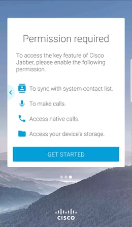 Jabber for Android - Quick Start Guide - Cisco