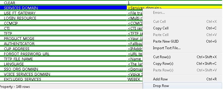 TechNote on Customization of Jabber MSI Installer using MS