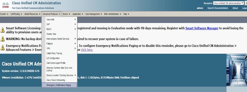 Configure InformaCast Paging Server Cisco Unified