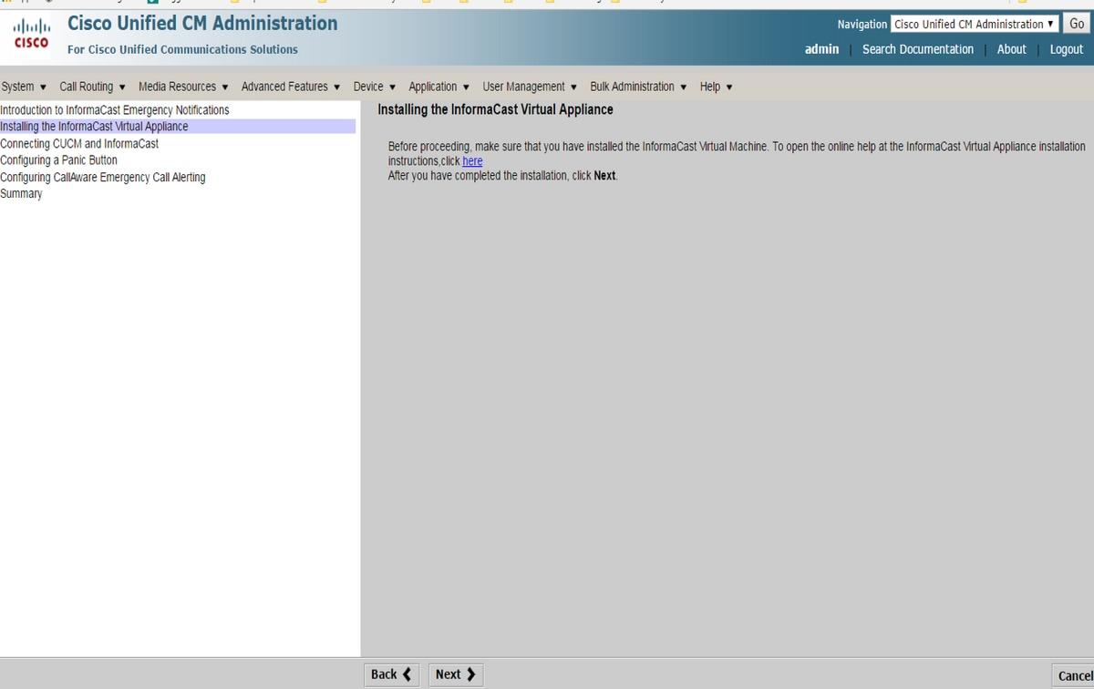 Configure InformaCast Paging Server Cisco Unified Communications ...