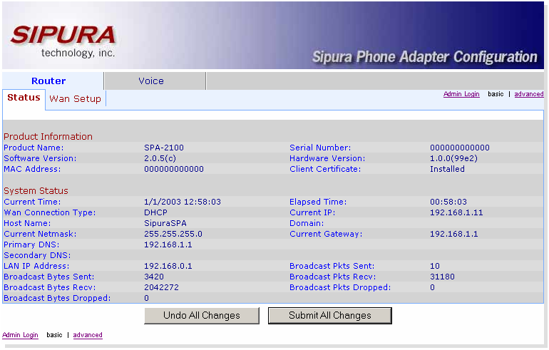 Accessing the SPA2100's Web-Based Setup Page - Cisco