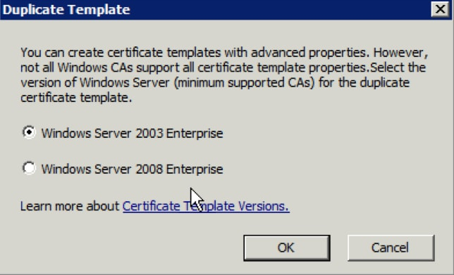 Video communication server certificate authority configuration click the windows server 2003 enterprise radio button if you want the template to be available for web enrollment click ok yelopaper Image collections