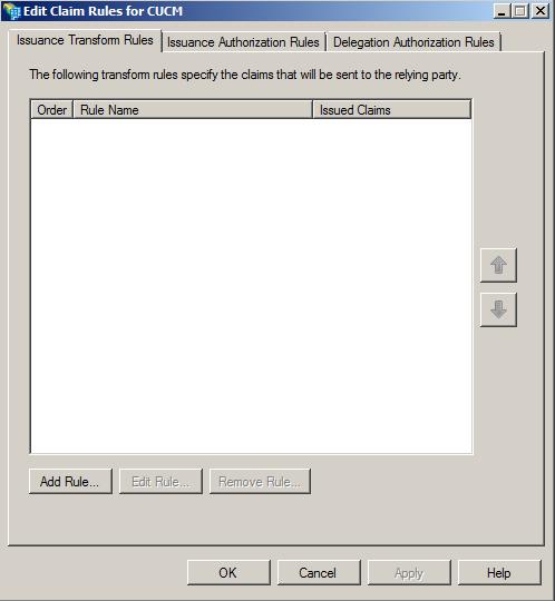 AD FS Version 2 0 Setup for SAML SSO Configuration Example
