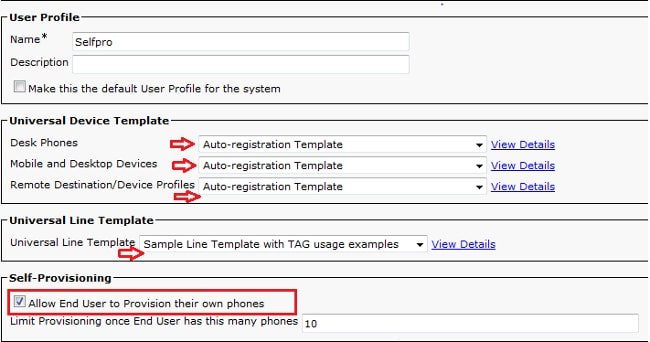 Self-Provisioning Feature - Out Of Box Experience - Cisco