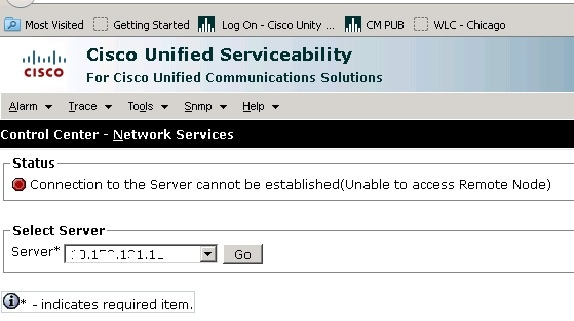 Troubleshoot CUCM Web (GUI) Issues - Cisco