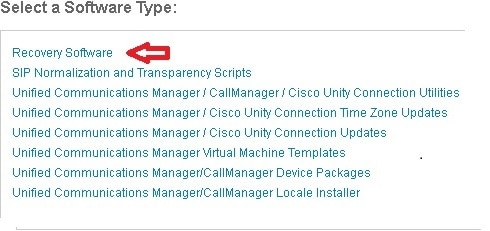Obtain and Run Recovery Software on the CUCM VM - Cisco