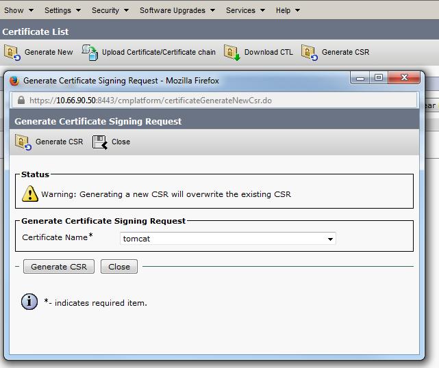 Verify Csr And Certificate Mismatch For Uc Cisco