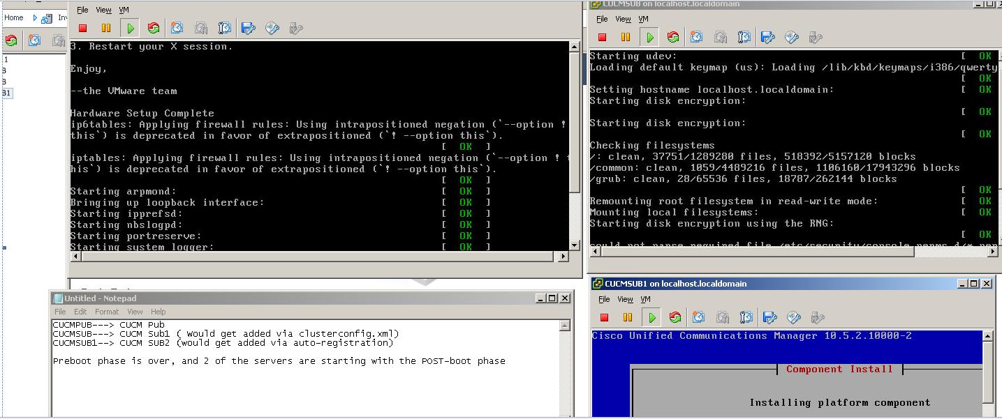 Instale Touchless VM para CUCM - Cisco