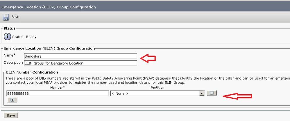 cucm のネイティブ緊急コール ルーティング機能の使用 cisco