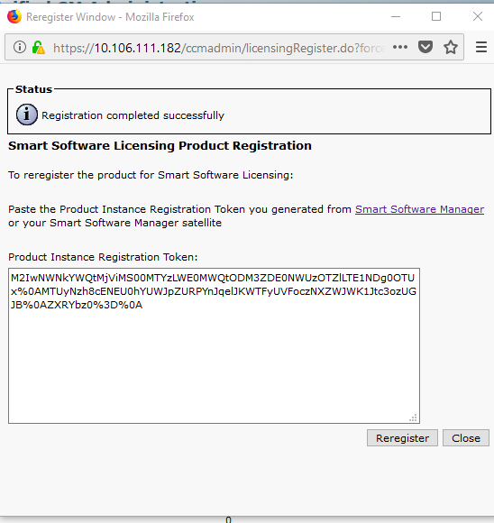 Configure CUCM Smart Licensing - Direct Model - Cisco