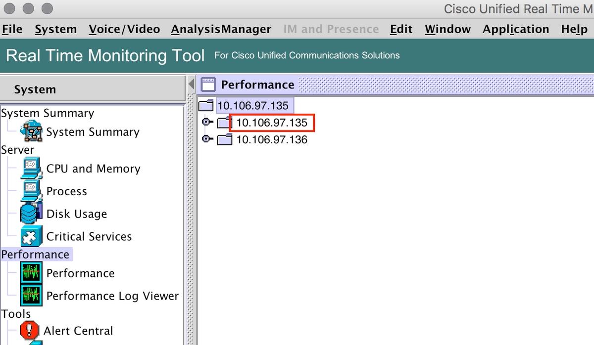 Configure Custom Alert in Cisco Real Time Monitoring Tool - Cisco