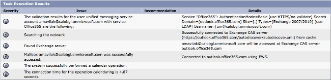 Unity Connection Office 365 Configuration Example - Cisco
