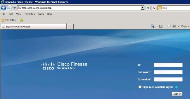 Finesse Agent Login Trace with the Use of Logs - Cisco