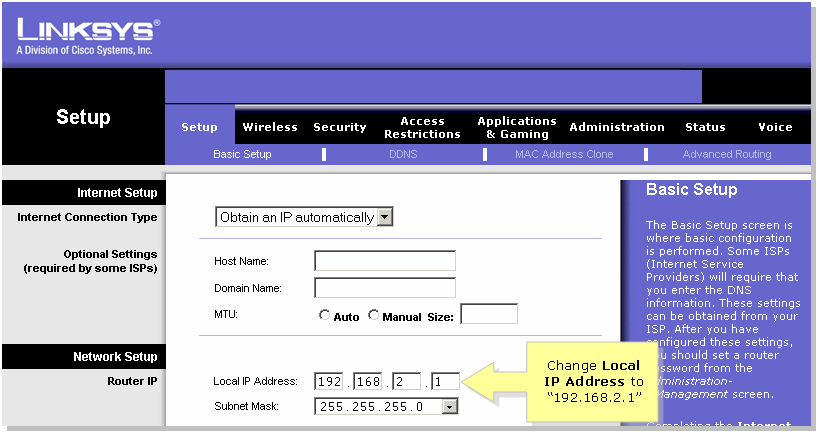 Assign ip address to cisco router