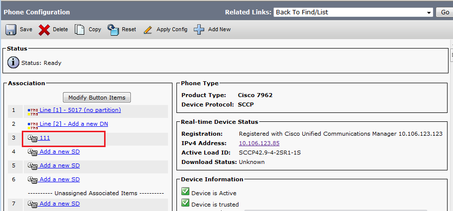 Configure Cisco IP Phone Speed Dial Buttons with CallManager