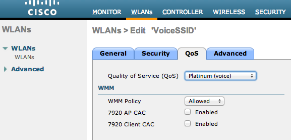 Cisco Unified Wireless QoS Tech Note - Cisco