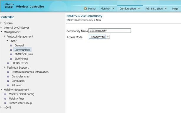 Converged Access (5760/3850/3650) Management via Prime