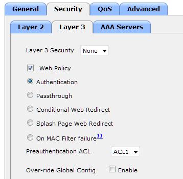 Web Authentication Proxy Configuration Example - Cisco