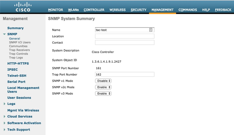 Monitoring Cisco AireOS WLC via SNMP using OIDs - Cisco