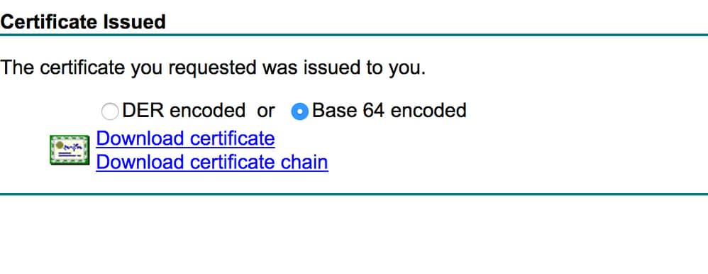 Generate Csr For Third Party Certificates And Download Chained