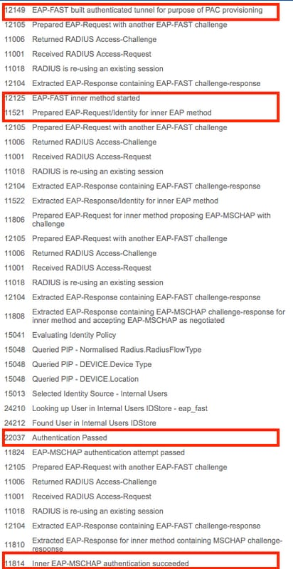 EAP-FAST Authentication with Wireless LAN Controllers and Identity