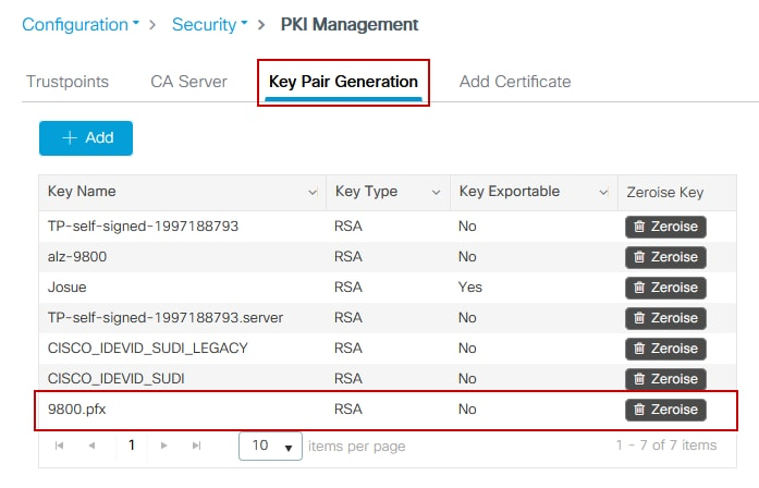 Generate CSR for Third-Party Certificates and Download