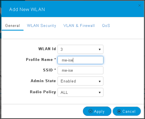 802 1x WLAN + VLAN override with Mobility Express (ME) 8 2 and ISE