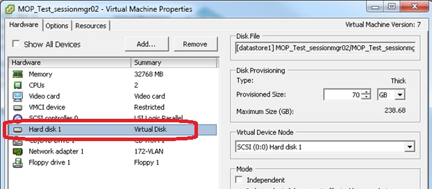 Add Disk Space to a VM when a Partition is Full - Cisco
