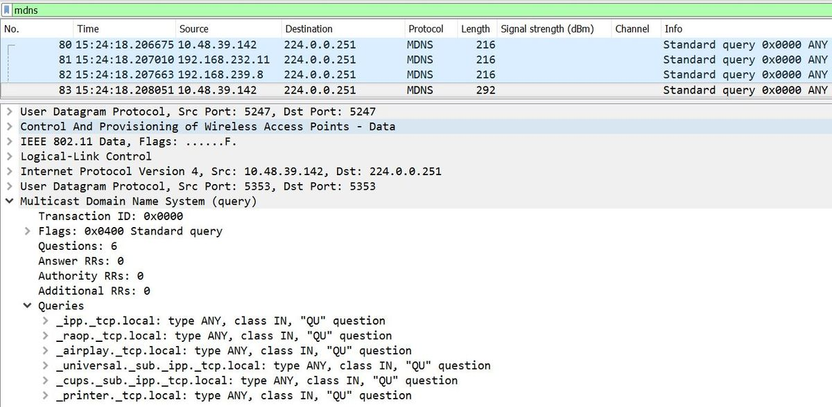 Troubleshoot and Understand mDNS Gateway on Wireless LAN
