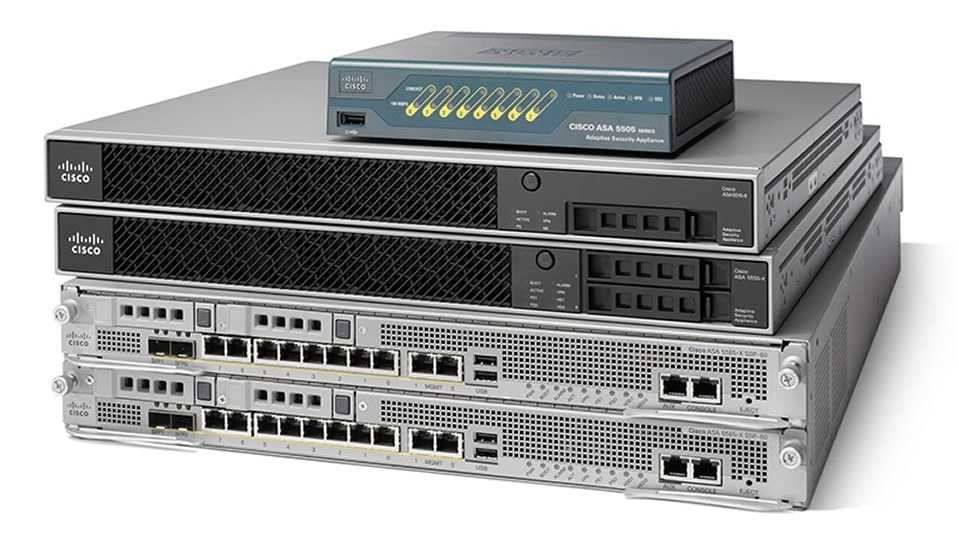 Product image of Cisco ASA 5500-X Series Firewalls
