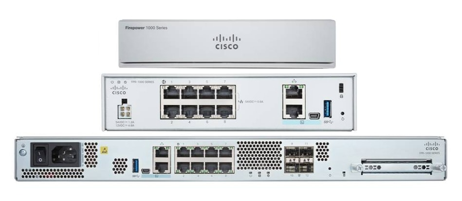 Product image of Cisco Firepower 1000 Series