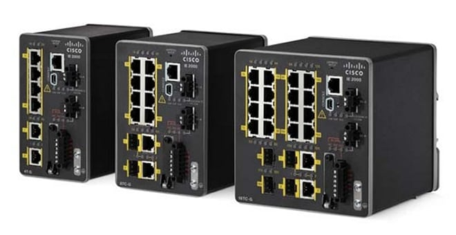 Product Image of Cisco Industrial Ethernet 2000 Series Switches