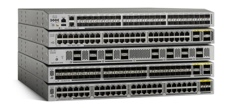 Product Image of Cisco Nexus 3000 Series Switches