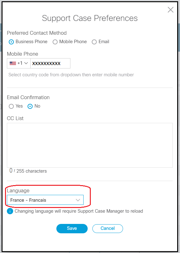 Support & Downloads Case Manager Help - Cisco