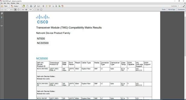 1  TMG Compatibility Matrix Tool - Cisco