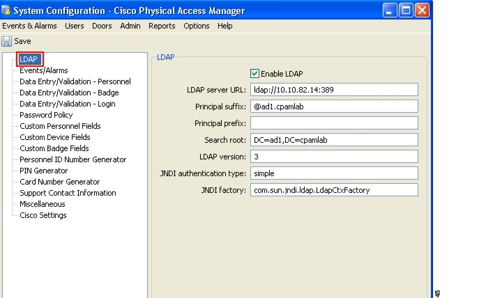 Cisco Physical Access Manager User Guide, Release 1.5.0 ...