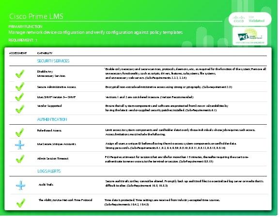 cisco compliance solution for pci dss 2 0 design guide summary component assessment design. Black Bedroom Furniture Sets. Home Design Ideas
