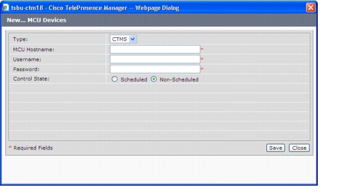 Configuring CTS-Manager - Cisco