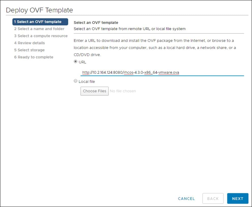 OpenShift 4 on FlashStack User Provisioned Infrastructure - Cisco