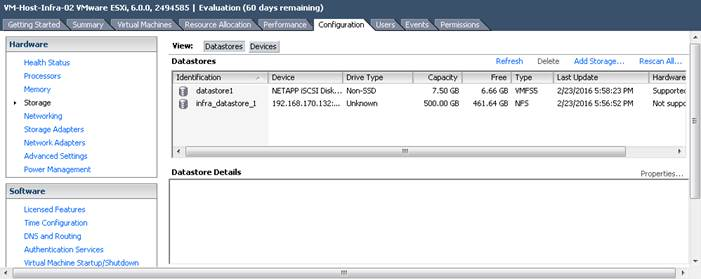 FlexPod Datacenter with Cisco UCS Mini and VMware vSphere 6 0 with