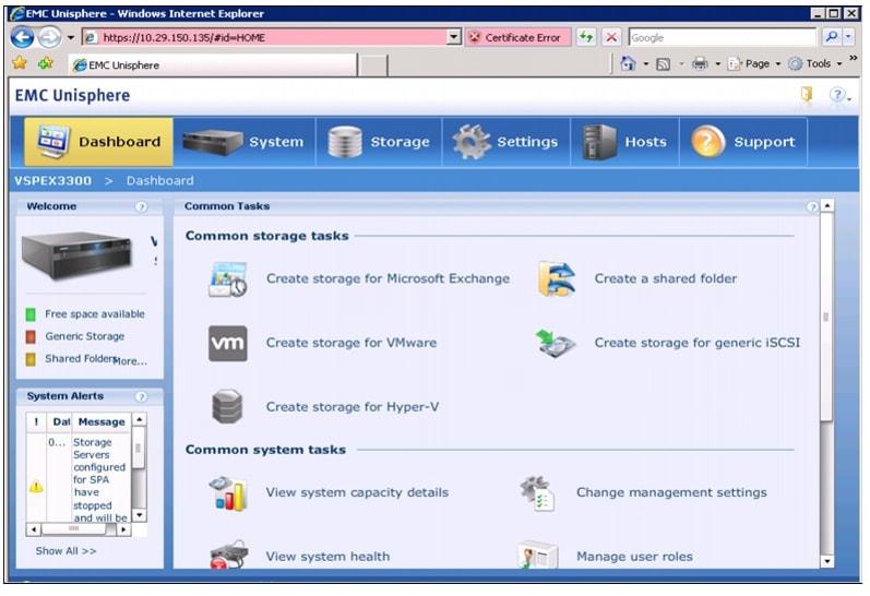 Cisco Virtualization Solution for EMC VSPEX with VMware