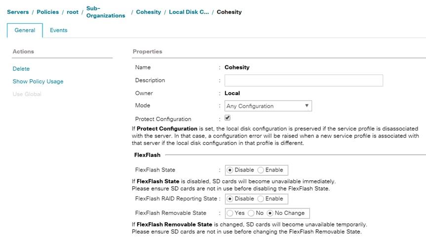 Cisco HyperFlex with Cohesity Data Protection - Cisco