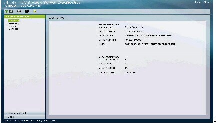 Cisco UCS Server Diagnostics Utility User Guide - Understanding UCS